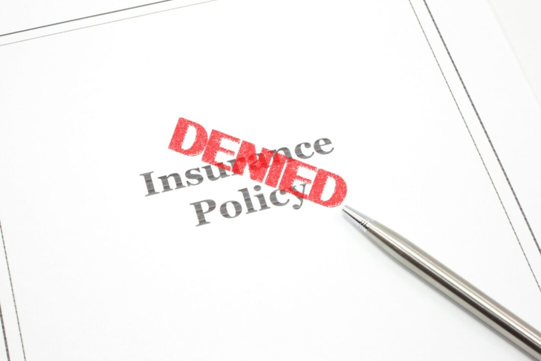 Turned Down For Life Insurance? What to do Next
