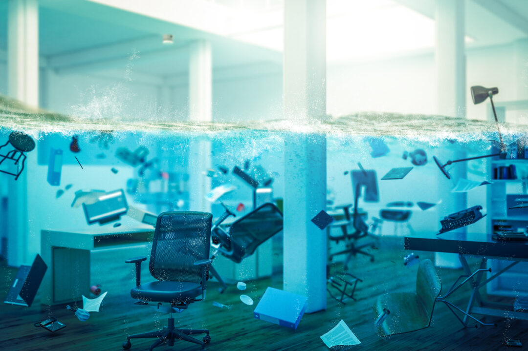 A business underwater needs commercial rental insurance and business liability.